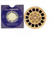 HOMES OF HOLLYWOOD MOVIE STARS VINTAGE BLUE ENVELOPE VIEW MASTER SET # 220