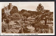 Dorset Postcard - Bournemouth, Lily Pond, Central Gardens  A7073