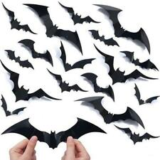 20/set Halloween Scary 3D Flying Bats Wall Stickers Room Decoration Home Decor