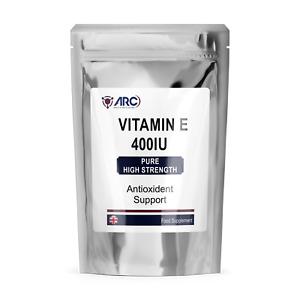 Vitamin E 400iu Antioxidant Softgel capsules Hair, Skin, Wrinkles,Immune Support