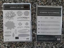 Stampin up ✿ Stempelset Lovely Lily Pad + Stanzformen Seerose ✿ Stempel Stanzen