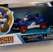 "Mini 4"" Sonic the Hedgehog Movie SEGA Racing Pull Back Speed Racer Car B-Gift"