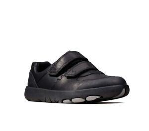 Clarks Rex Pace Size 13 F School Shoe RRP £44