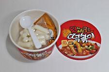 Toekbokki Korean rice cake Snack food * 1 CUP 160g HOT