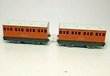 Thomas the Tank Engine Annie and Clarabel from Plarail Thomas Series Set # 7401