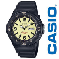 Casio Men's Classic Day Date Black Resin Quart Watch, MRW-200H-5BVCF