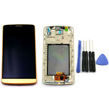 Gold For LG G3 D850 D855 D851 LCD Display Touch Screen Digitizer Frame + Tools