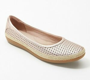 Clarks Collection Leather Espadrilles - Danelly Adira Choose SZ/Color NEW