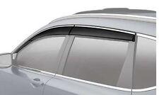 NEW GENUINE HONDA 2017 2018 CRV CR-V DOOR VISOR SET VENT VISORS 08R04-TLA-100