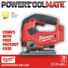 Milwaukee M18FJS-0 'FUEL' Cordless Jigsaw with FREE PACKOUT CASE