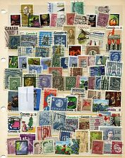 Used Canadian Stamp Collections & Mixtures