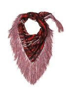 Isabel Marant Pour H&M Red Scarf with Fringe New With Tags BNWT Designer