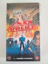 """AD Police Episode 1 """"Voomer Madness"""" Original 1994 Manga VHS Excellent Condition"""