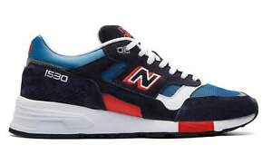 New Balance Mens Navy Blue Red Made in UK 1530 Lifestyle Trainers UK 6.5 EU 40