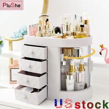 Acrylic Protable Desktop Cosmetic Storage Box Waterproof Makeup Organizer Drawer