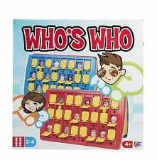 Traditional Board Games Who's Who Gues Who Style Game Family Fun 20 Questions
