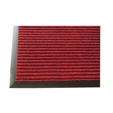 Winco FMC-35U, 3x5-Inch Vinyl Needle Ribbed Carpet Entrance Floor Mat, Burgundy