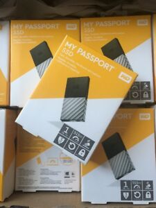 WD My Passport External SSD - 1 TB, Black & Silver