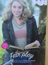 KNITTING PATTERN Ladies Fair Isle Tank Top Jumper Sweater Sublime PATTERN