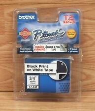 """Brother (TZ-241) 3/4"""" Inch Wide P-Touch Electronic Labeling System Tape **NEW**"""