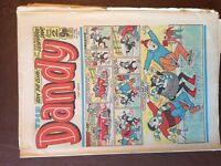 Box j rare comic dandy no 2094 january 9th 1982
