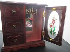Mini Wood Dresser Jewellery Box