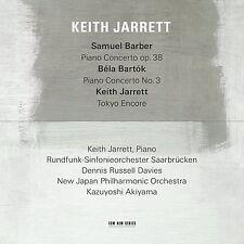 JARRETT KEITH - BARBER/BARTOK/JARRETT  - CD NUOVO SIGILLATO