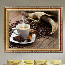 DIY 5D Diamond Embroidery DIY Painting Coffee Cross Stitch Crafts