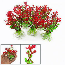 Artificial Fake Fish Tank Plants Aquarium Aquatic Decoration Ornament Flower UK
