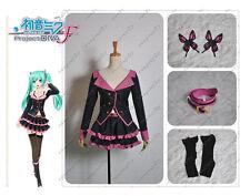 Vocaloid Hatsune Miku Project DIVA F Sweet Devil MIKU Cosplay Costume Any Size
