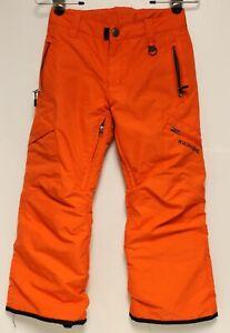Boulder Gear Orange Insulated Snow Ski Pants XS Womens Adjustable Pockets
