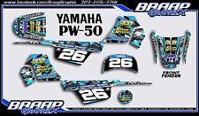 Yamaha PW-50 Wood Replica LL Graphics Decal Kit
