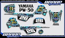 Yamaha PW-50 Wood Replica LL Graphics Decal Kit