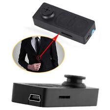 Mini Button Pinhole Spy Cam Video Micro Hidden Security Camera DVR Recorder