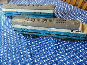 Postwar LIONEL 1956 #2368 F3 BALTIMORE AND OHIO AB Runs! Sold as is