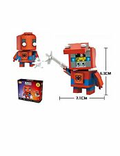 LOZ New DIY Mini Building Diamond Nano Blocks Bricks Toy Spiderman