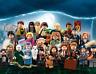 Harry Potter Minifigures Ron Hermione Dumbledore Voldemort Cedric Malfoy Magic