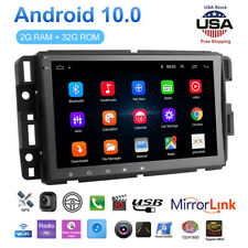 For Gmc Chevrolet Chevy Sierra 8' Android10.1 Car Stereo Radio Gps Navigation