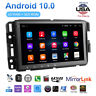For GMC Chevrolet Chevy Sierra 8'' Android10.1 Car Stereo Radio GPS Navigation