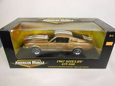 ERTL 1967 Shelby GT-500 Gold (Die-Cast - 1:18 Scale)
