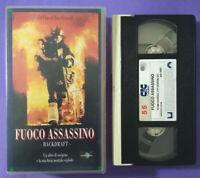 VHS FILM Ita Azione FUOCO ASSASSINO Robert De Niro Kurt Russel nolo no dvd(V75)°