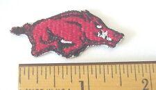 "Arkansas University Razorbacks Embroidered 1 7/8""  Iron on Mini Patch"