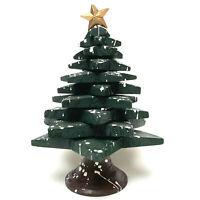 Wooden Folk Art Christmas Tree