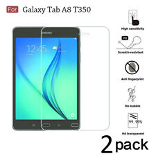 [2-Pack]Tempered Glass Screen Protector For 8'' Wifi Samsung Galaxy Tab A8 T350