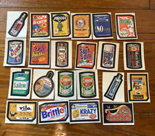 22 Vintage Wacky Packages Trading Card LOT 1970s Era