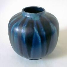 70s Karlsruher Majolika Keramik 7824 Friedegart Glatzle west german ceramic Vase