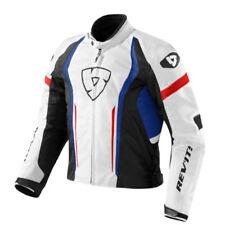 Blousons bleus textile pour motocyclette Eté