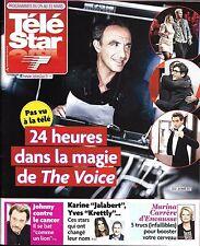 TELE STAR N°2112 25/03/2017 24H DS THE VOICE/ HALLYDAY/ VUILLEMIN/ HAUTOT/CRUISE