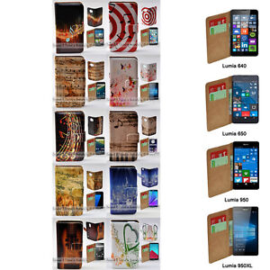 For Nokia Series - Music Note Print Theme Wallet Mobile Phone Case Cover #2