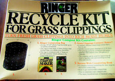(Lot of 3) Ringer Composting Kits Ebay Best Price Brand New Grass Recycling Sys